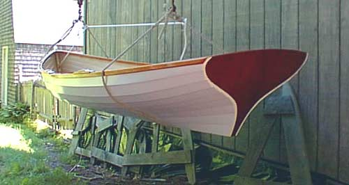 Curved stern 14' DSuck Trap Wherry