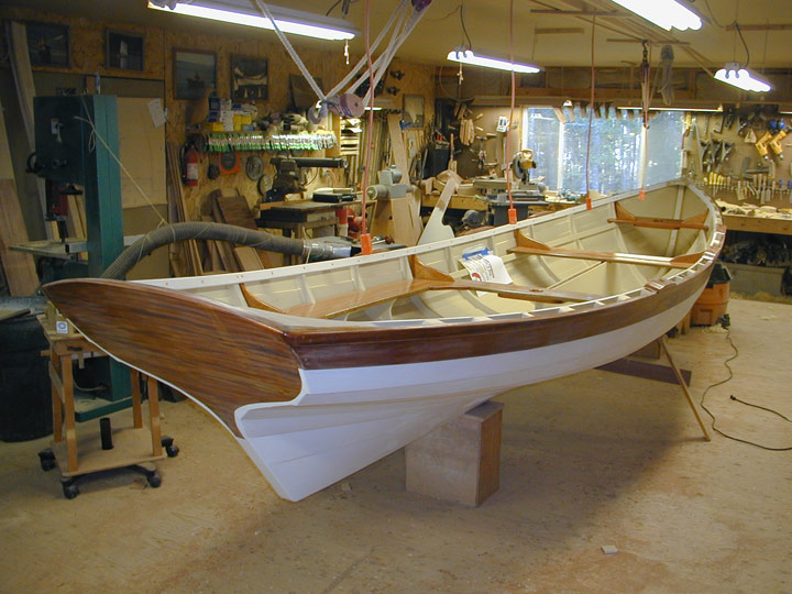 Re: I want to build real wooden rowboat